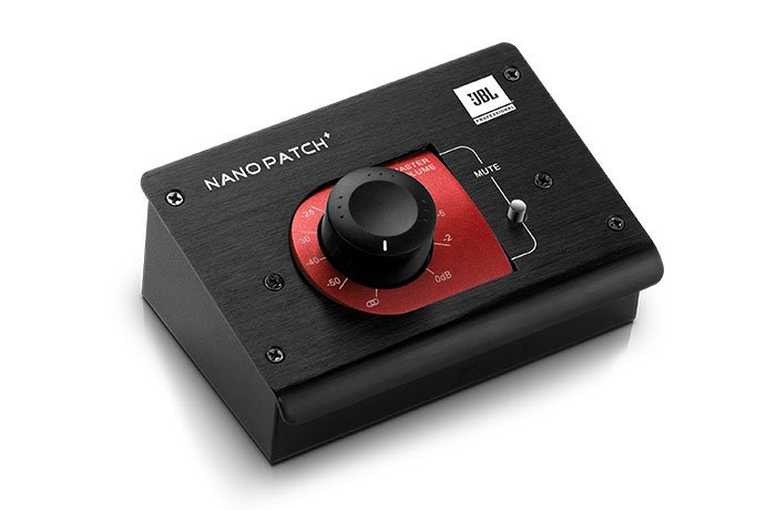 JBL NPATCH+ Compact 2-Channel Passive Volume Controller NPATCH+