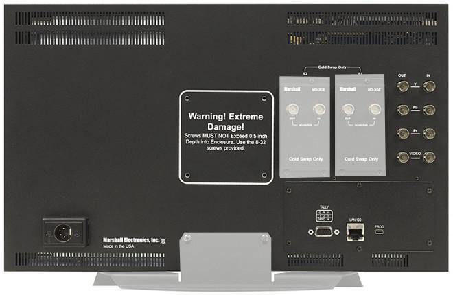 "6RU 17"" Full Resolution Rack Mount Standalone Monitor with Modular Inputs"