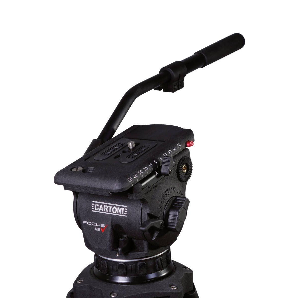 Focus Head with Quick Release Plate, with Pan Bar, 0-26lbs