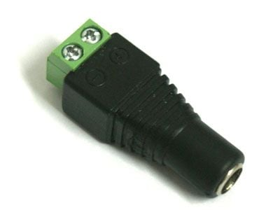 Male Barrel Connector for QolorFLEX LED Tape