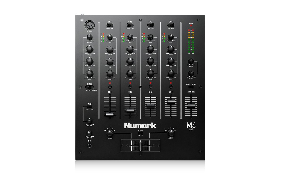 4-Channel Mixer With USB