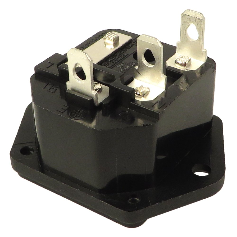 AC Socket with Fuse Holder for FS1000