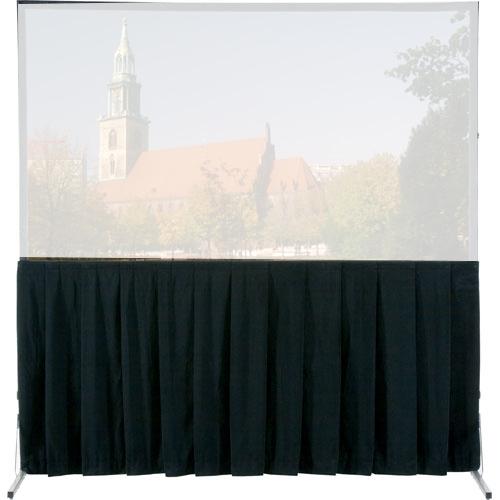 Da-Lite Fast-Fold Projector Skirt 10' x 13' UV Drape 36778