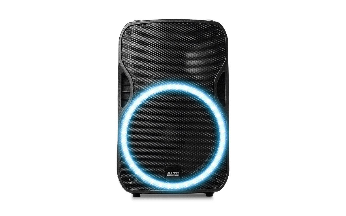 Active Loudspeaker, 15-Inch, With LED Array