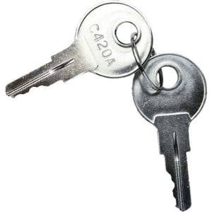 Replacement Keys for CWR Series Racks, Set of 2