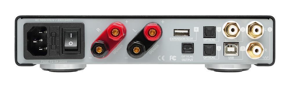 Optoma DDA120 NuForce Series Digital Amplifier with Bluetooth Receiver DDA120
