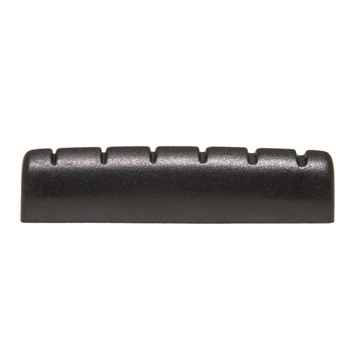 "Black TUSQ XL Epiphone Style Slotted Nut 1/4"""