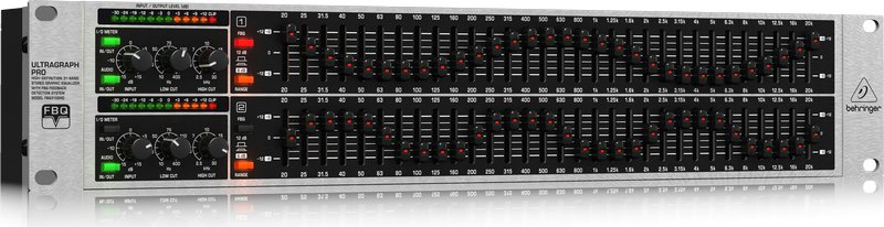 behringer fbq3102hd 31 band stereo graphic equalizer full compass systems. Black Bedroom Furniture Sets. Home Design Ideas