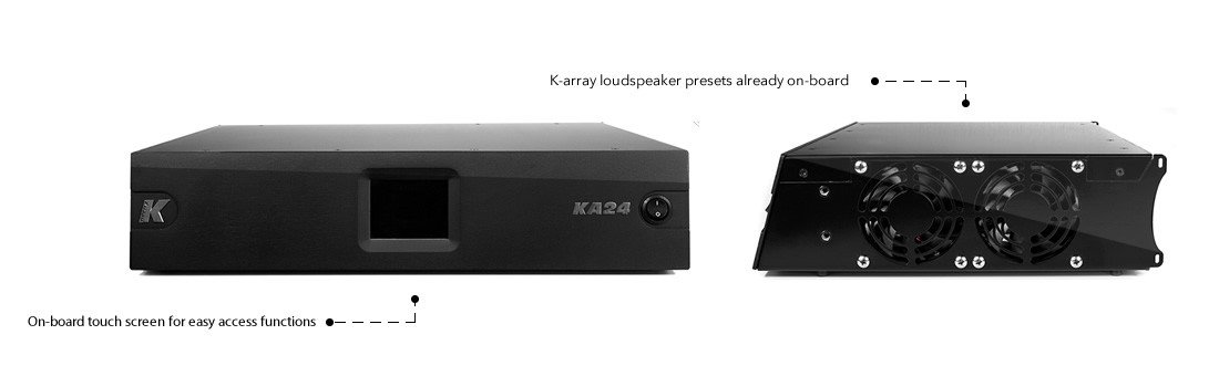 K-Array KA24 All-In-One KA Amplifier KA24