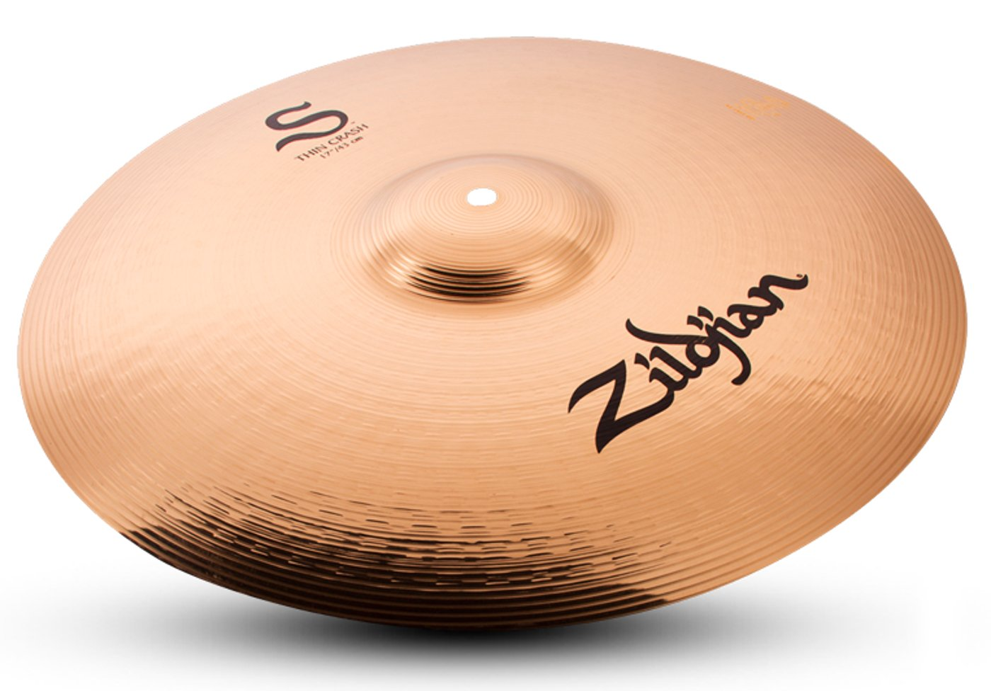 "Zildjian 17"" S Family Thin Crash Cymbal S17TC"