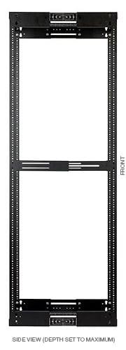 """LVR Series Adjustable A/V Rack, 22RU, 14-21"""""""