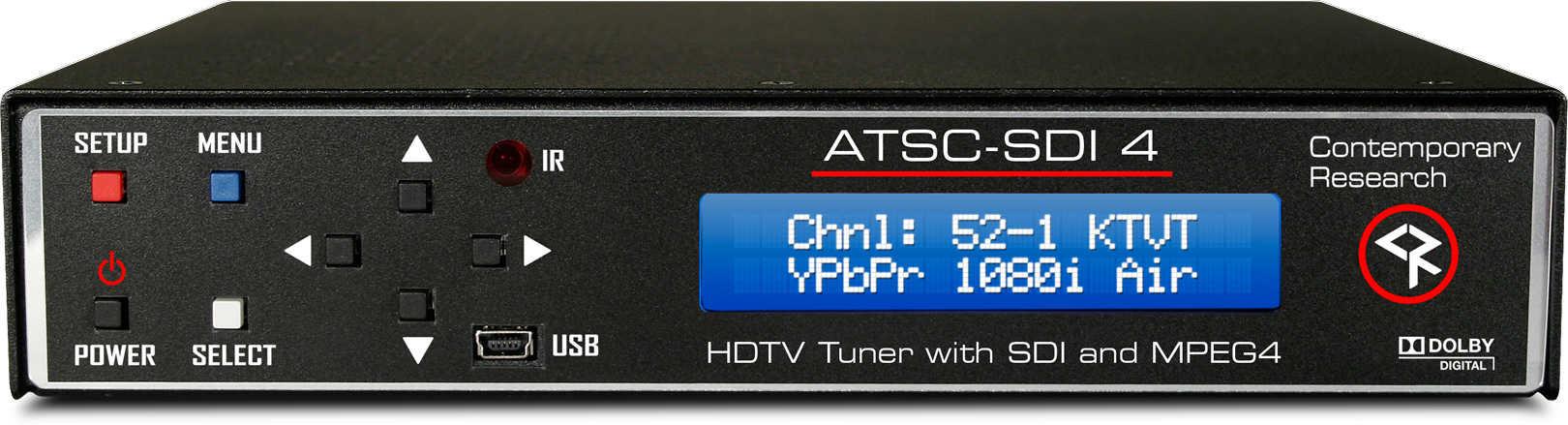 HDTV Tuner SDI & ASI