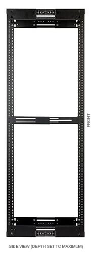 "LVR Series Adjustable A/V Rack, 38RU, 17.5""-21"""