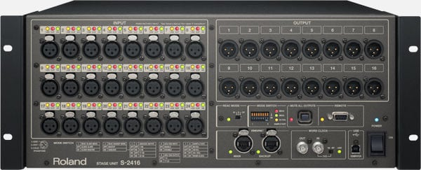 Digital Mixing System With 40 Digital Inputs And 24 Digital Outputs