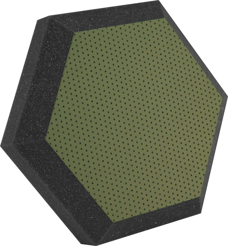 "12"" Hex Series Hexagonal Foam Wall Panel, Class B"