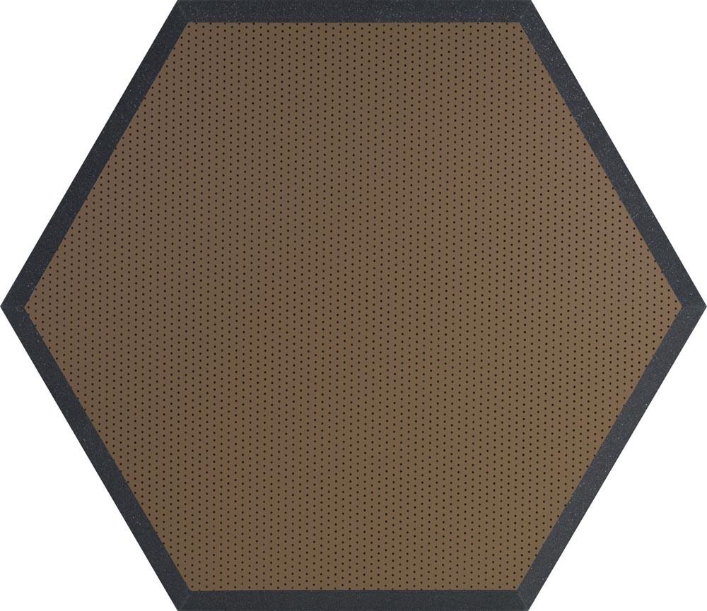 """24"""" Hex Series Hexagonal Foam Wall Panel, Class B"""