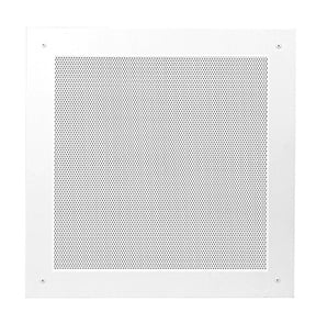 Lowell JG-15 [RESTOCK ITEM] 15 Inch Square Grille, White JG-15-RST-01