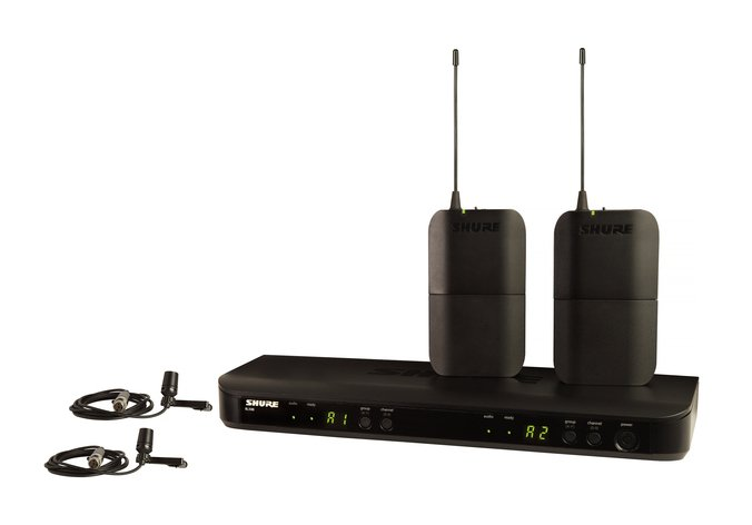 Dual Channel Lavalier Wireless System With H10 Frequency