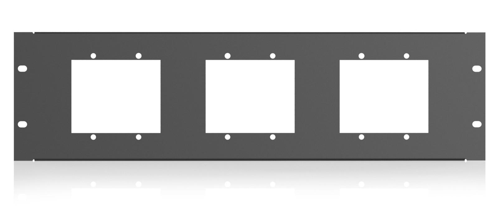 3RU Rack Mount Kit for BlueBridge Wall Plate Controllers