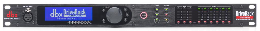 Complete Loudspeaker Management System With Dante