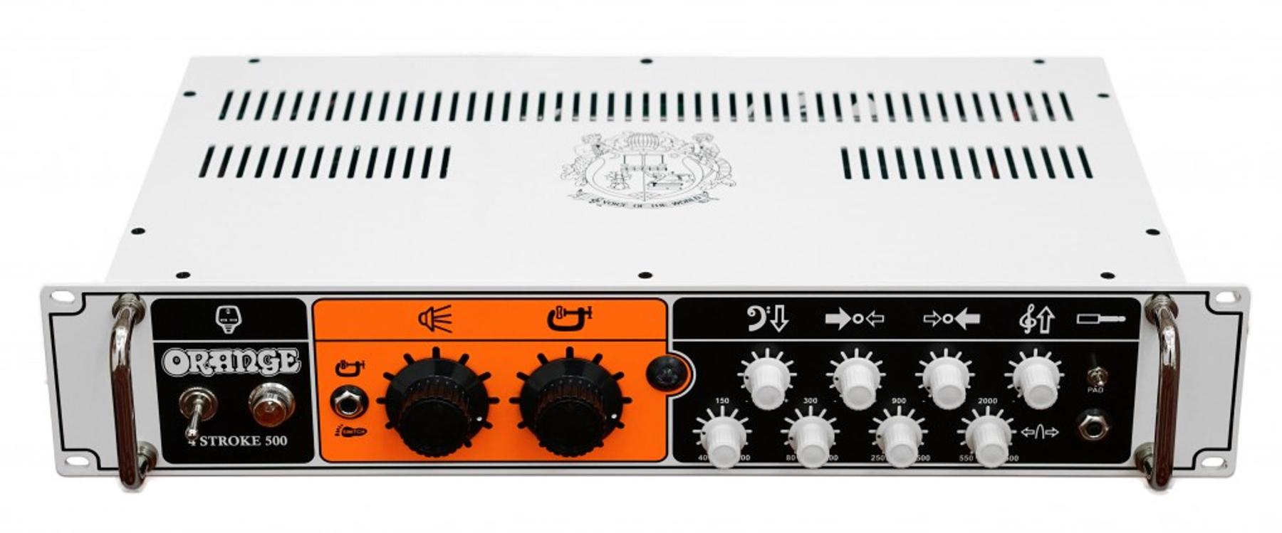 500 Watt Solid State Bass Amplifier Head, Rackmountable