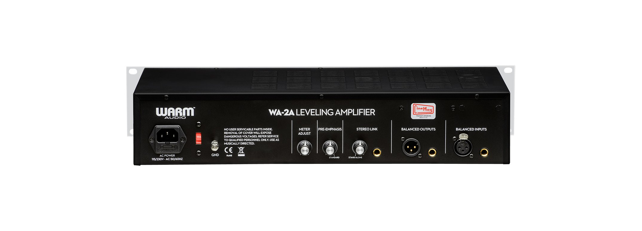 Warm Audio WA-2A Tube Opto Compressor Vintage Style Leveling Amplifier WA2A