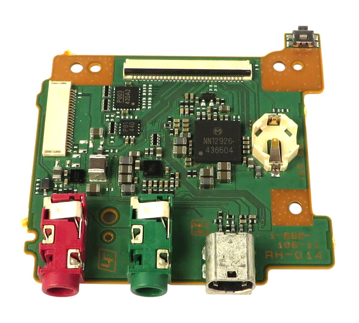 Sony A1871741A  Jack PCB Assembly for HXR-NX30U A1871741A