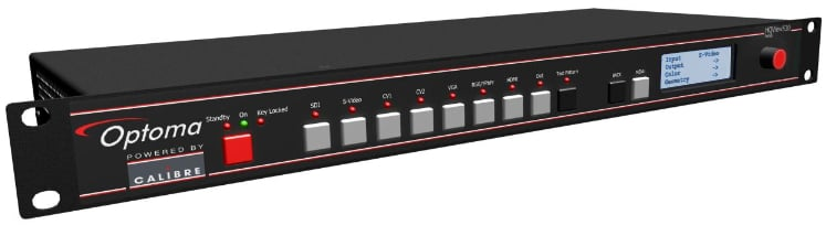 Universal HQV Scaler–Switcher/Scan Converter with Warp Mapping, Edge Blend, 3G-SDI I/O, and LCD Displa