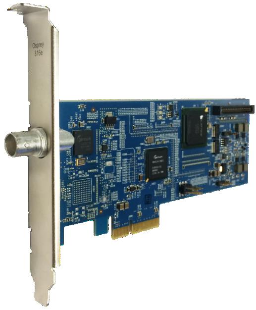 Single Input 3G SDI or DVB-ASI Video Capture Card