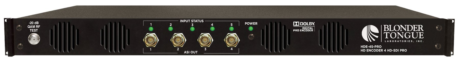 HDE-4S-PRO with Low Latency Option (Manufacturer #: 6372 LL)