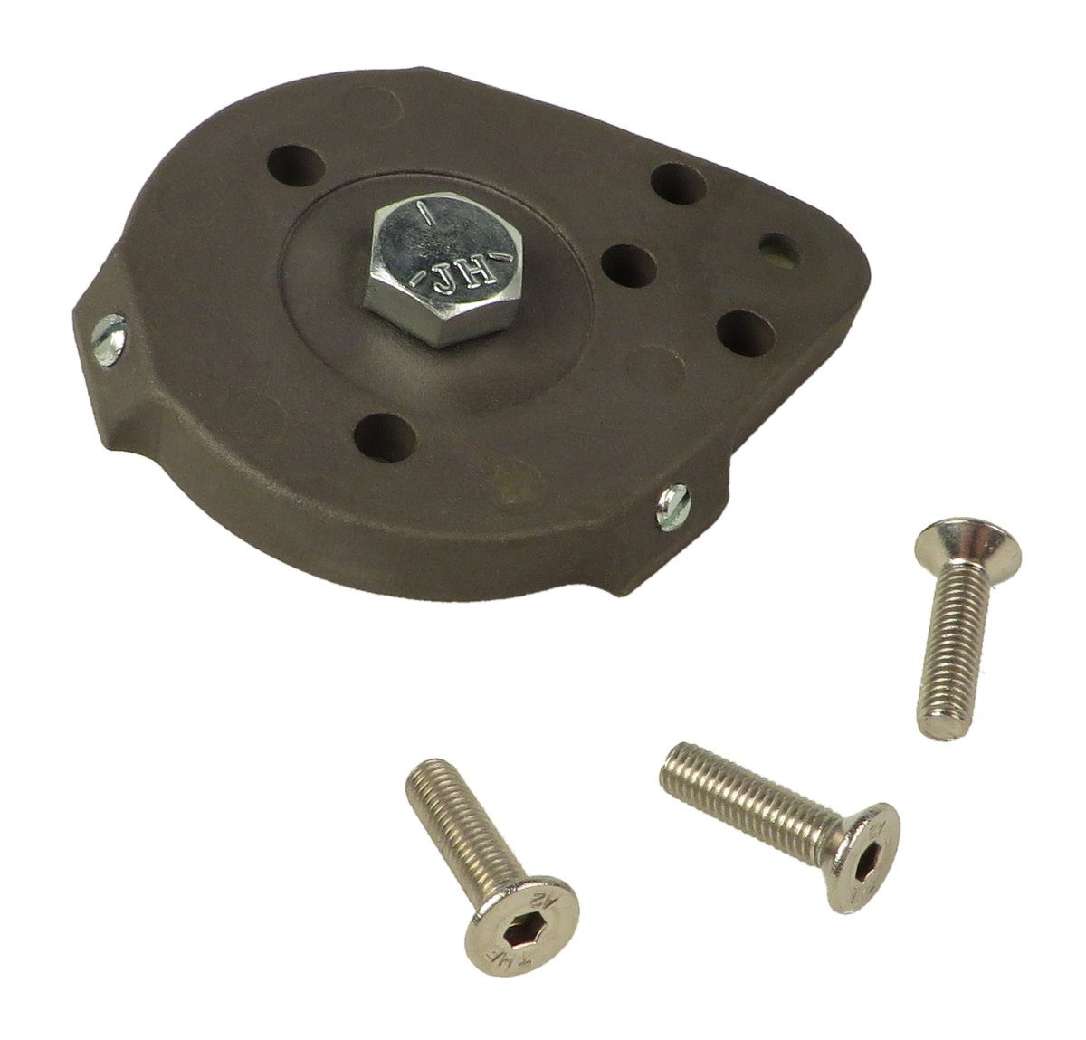 Plate with Screws for 755B and 554