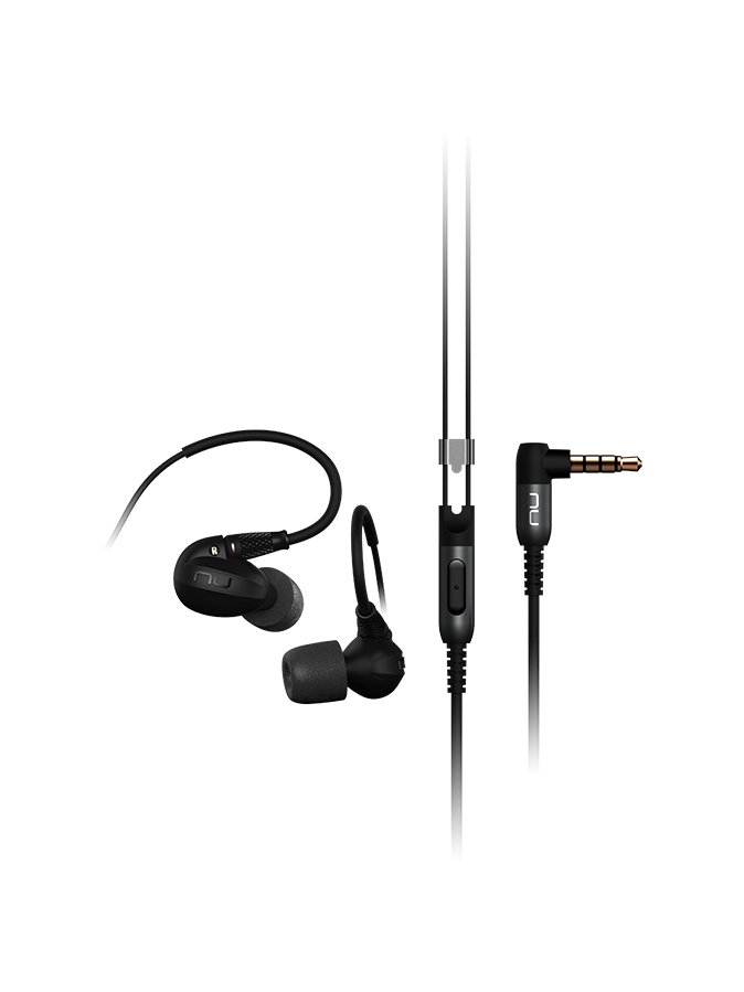 NuForce Series Quad Balanced Armature Driver In-Ear Headphones