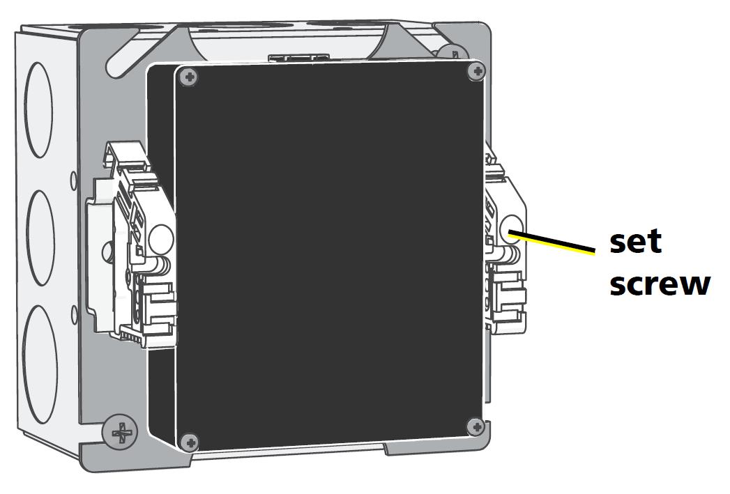 Echo Low-Voltage DIN-Rail Cover Kit