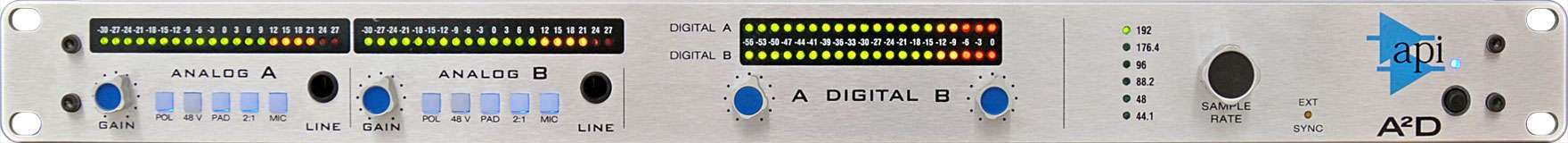 2-Channel Microphone Preamplifier with Digital Output