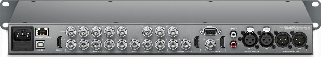 ATEM Production Switchers - Markertek