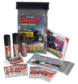 Audio/Video DeoxIT Survival Kit