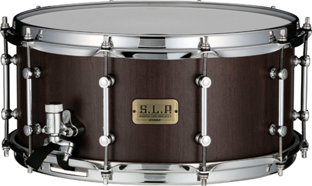 "6.5x14"" Snare Drum, 9mm, 10-Ply Walnut"