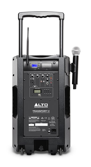 12-Inches Portable PA System With Wireless Microphone