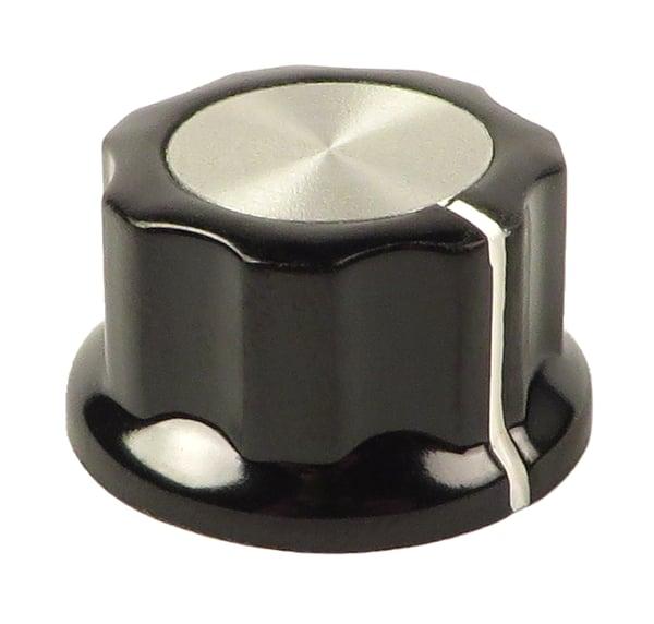 Black/Silver Edit Knob for microKORG