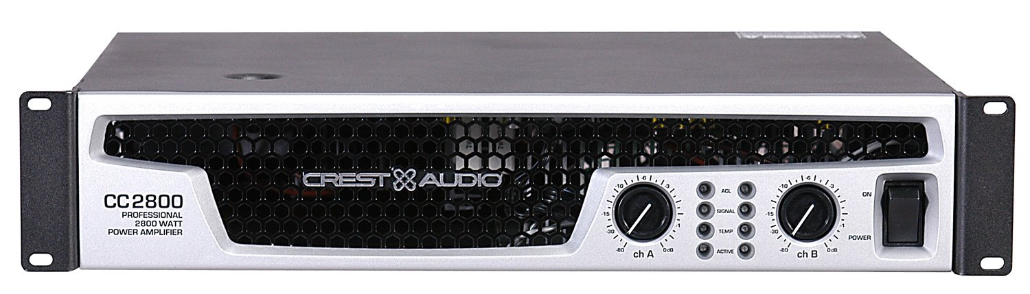 Power Amplifier 595/965/1400W @ 8/4/2 ohms Stereo