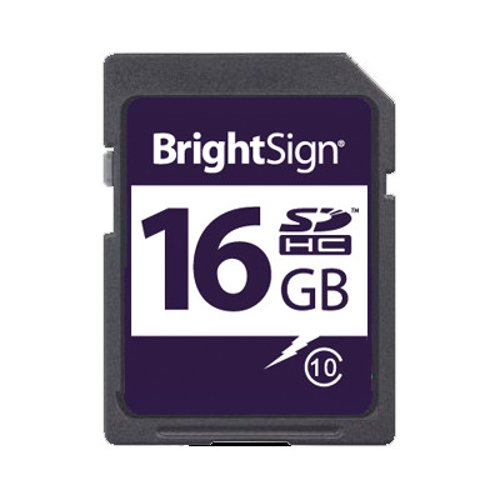 16GB Class 10 SDHC Card for HD, XD, and 4K Players