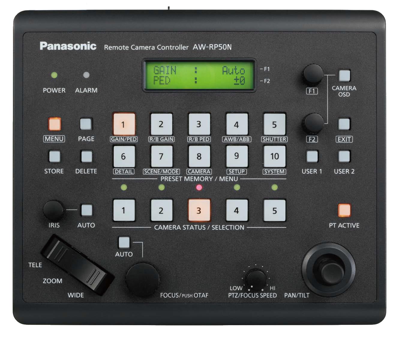 Panasonic AWRP50N Remote Pan/Tilt Camera Controller AWRP50NJ