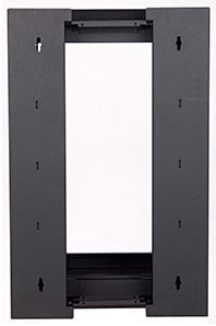 "7RU 22""D Swing-Out Wall Rack"