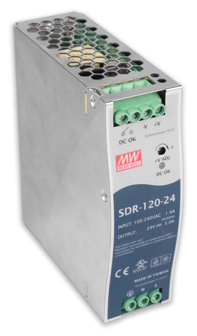 Rail Power Supply for (5) KT2 Tornados, 24V DIN
