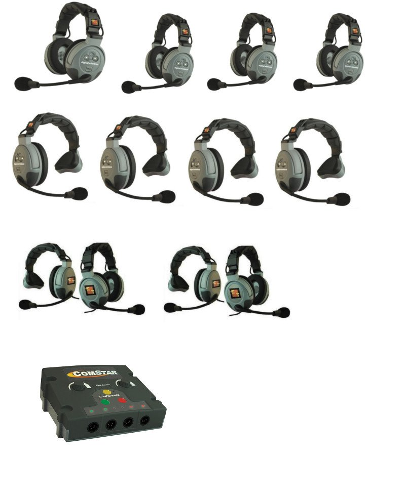 FlexBaseStation, 12 Person Capacity, 4 Wired / 8 Wireless