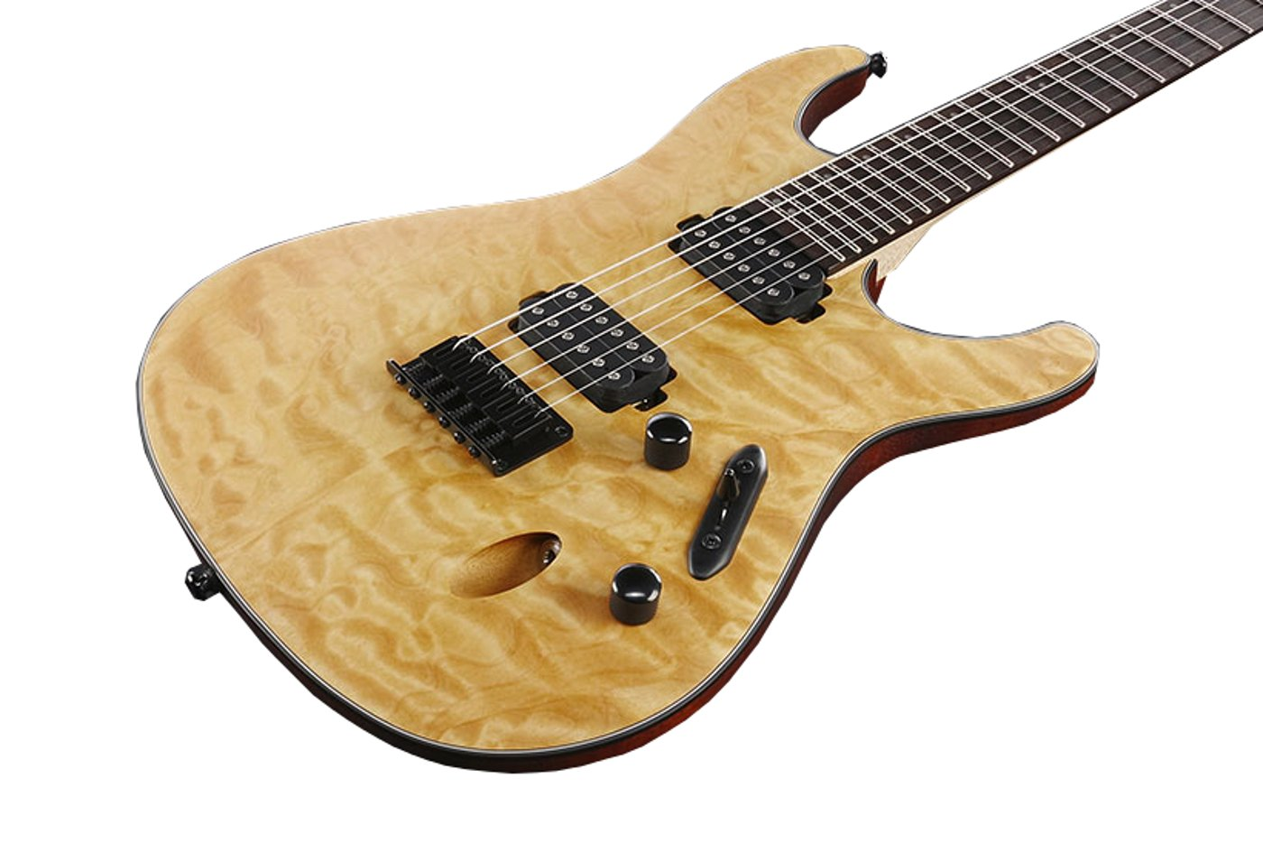 S Series Electric Guitar with Quilted Maple Top