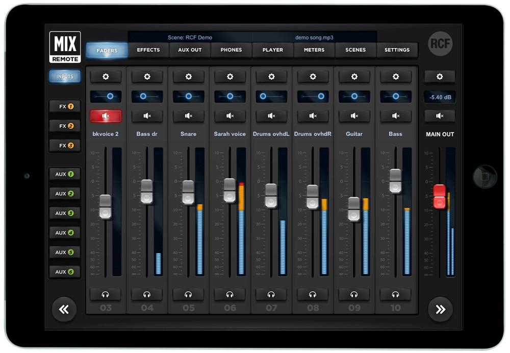 18 Channel Digital Mixer