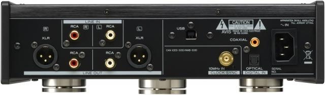 USB DAC Headphone Amplifier, Black