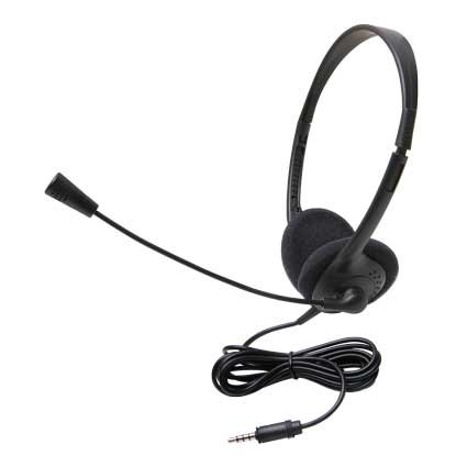 Lightweight Personal Multimedia Stereo Headset