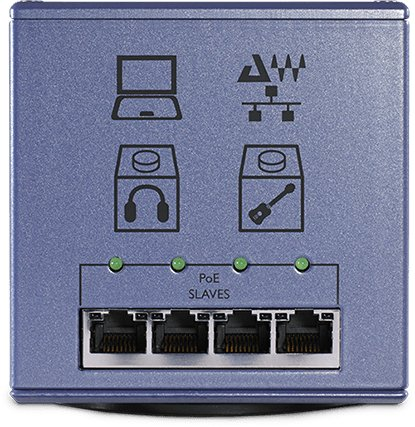 Power Over Ethernet For Audio Networks